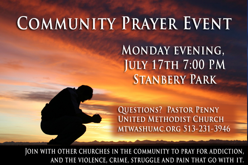 Community Prayer Event – Mt  Washington Baptist Church